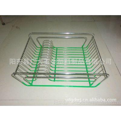 kitchen wire rack average cabinet cost 沥水碗架 镀铬浸胶碗碟架 碟架 微波炉铁线架 厨房架 价格 厂家 微波炉铁