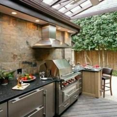Outdoor Kitchen Modules Island For Small 盘点土豪们令人艳羡的户外厨房 博览 环球网