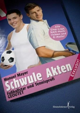 Schwule Akten: Fußballstar und Tennisprofi: Geoutet!
