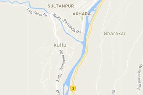 kullu-map-earthquake