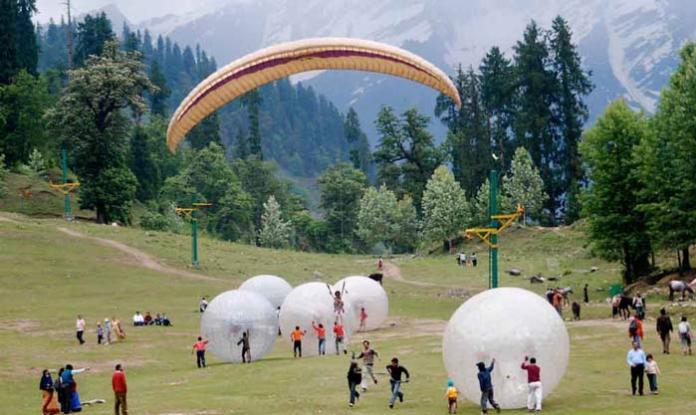 paragliding--kullu