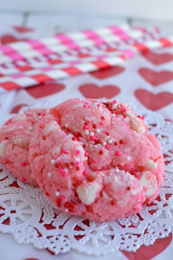 strawberry shortcake cookies recipe