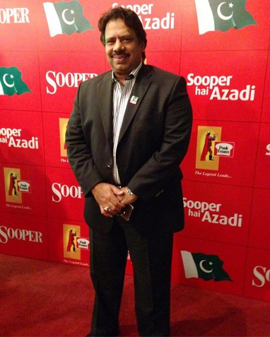Pakistani Squash legend Jahangir Khan at #SooperHaiAzadi event