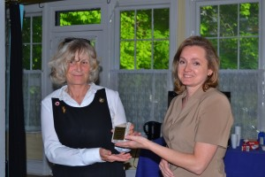 Pattie Gets Gordon Memorial Award 2014