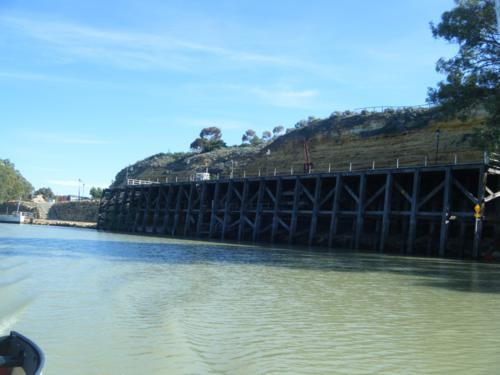The old wharf at Morgan