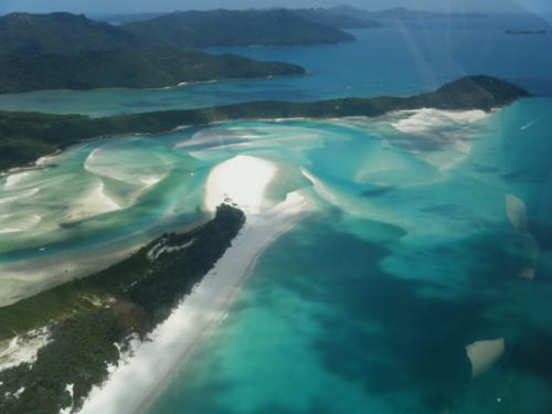 Whitehaven Beach and Hill Inlet