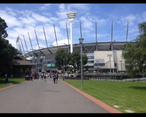 The MCG is always a great sight