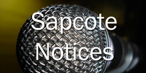 Sapcote Notices – 8th May 2016