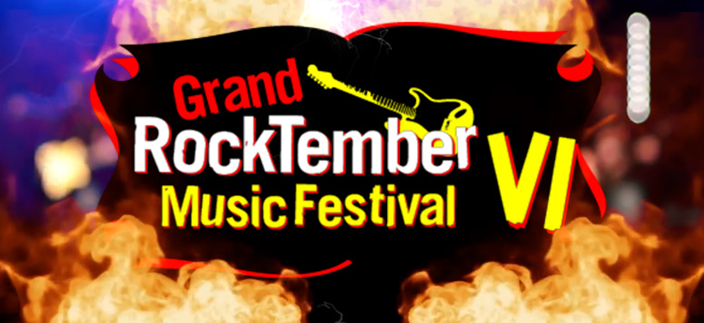 Concert logo Rocktember at Grand Casino Hinckley MN