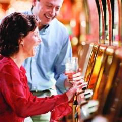 Grand Casino slot machine girl photo