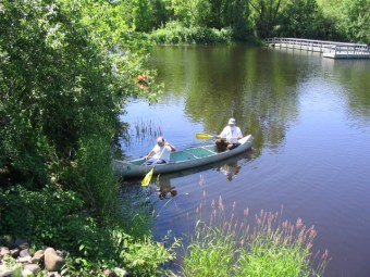 boating, fishing, other recreation on St. Croix State Park