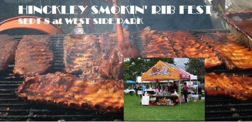 2018 Hinckley Smokin Ribfest at West Side Park Hinckley MN