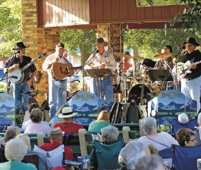 gospel concert of Mystery Mountain Boys