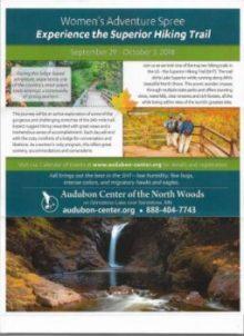 womens hiking adventure spree at audubon center