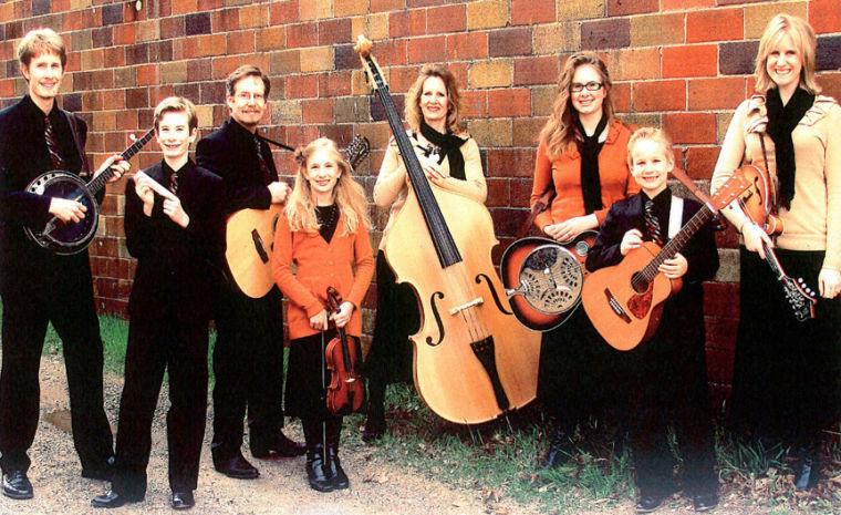 The Garms Family at First Presbyterian Church Hinckley MN