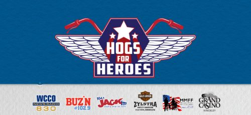 Motorcycle event at Grand Casino Hinckley Hogs for Heroes