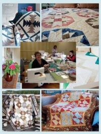 Quilt retreat in the fall at Emma's Country Garden retreat Hinckley MN