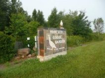Flora Preserve Minnesota Goose Garden in Sandstone MN