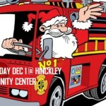 Christmas fun at Santa Day in Hinckley MN