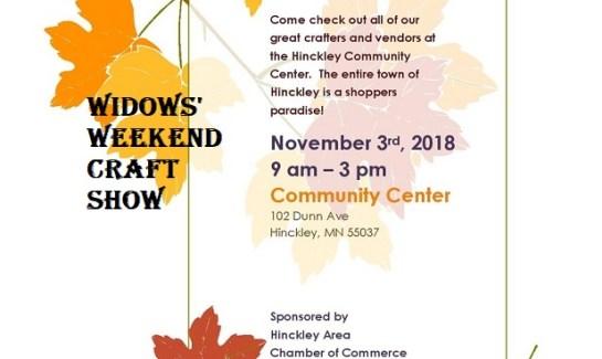Hinckley craft sale show