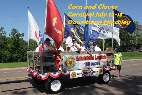 Corn and Clover Carnival Hinckley MN