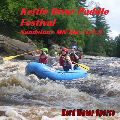 Kayaking Canoeing and Rafting at Paddlefest in Sandstone MN