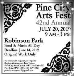 Pine City MN Arts Fest