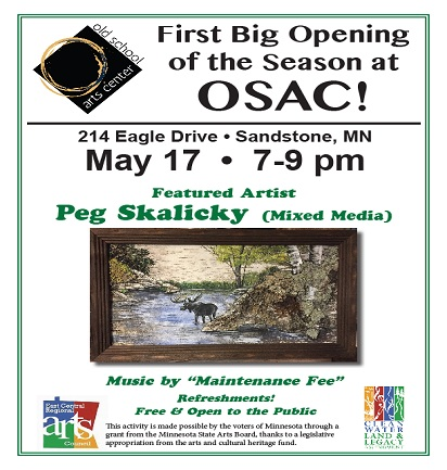Old School Arts Center big opening 2019 poster image
