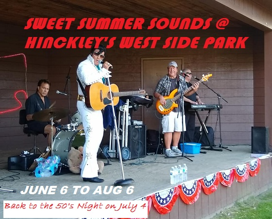 Summer Concerts at the Hinckley West Side Park