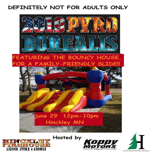 Family fun at Pyro Borealis 2019 Hinckley MN
