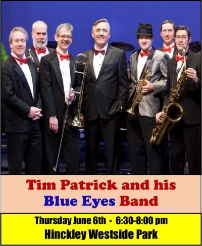 Sweet Summer Sounds presents Tim Patrick & his Blue Eyes Band in Hinckley Westside Park