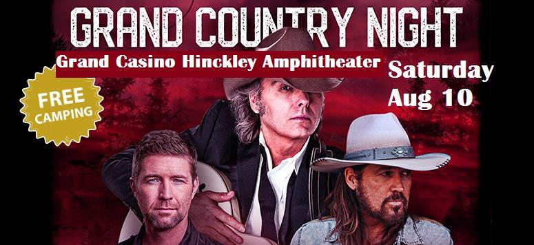 Grand Casino Hinckley Grand Country NIght