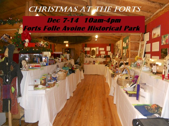 Forts Folle Avoine Christmas 2019