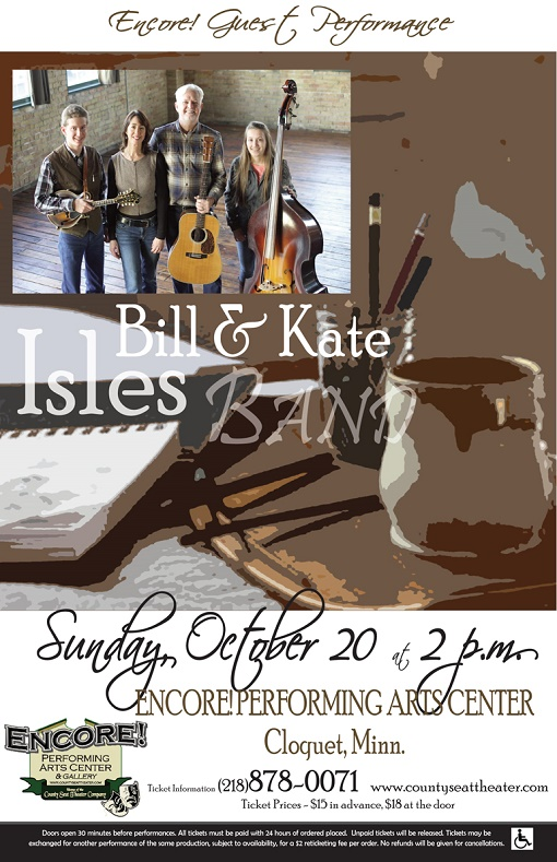 Bill and Katel Isles at County Seat Theater MN