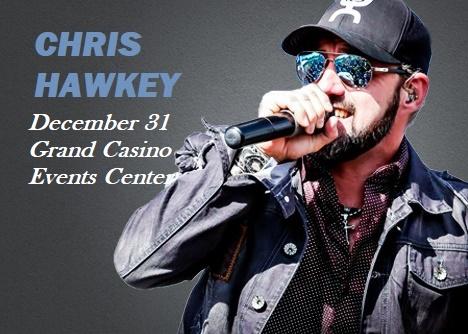 Chris Hawkey Grand Casino Hinckley MN
