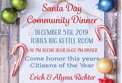 Community Dinner Hinckley MN December 2019