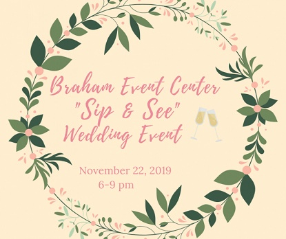 Wedding Event at Braham MN