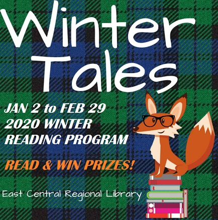 Winter Reading Program at East Central Library Pine City MN