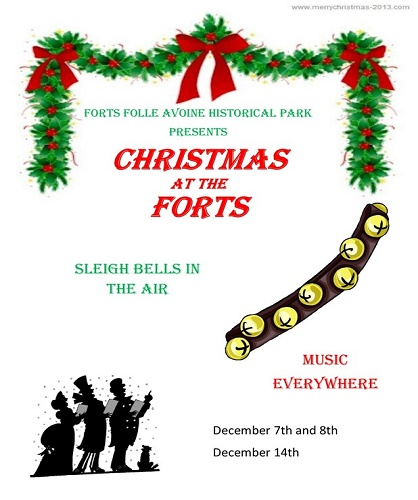 Forts Folle Avoine Christams events 2019