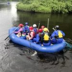Osprey Wilds Summer Camp rafting