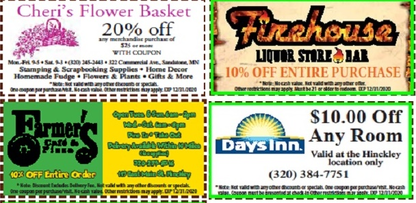 discount coupons in Hinckley MN
