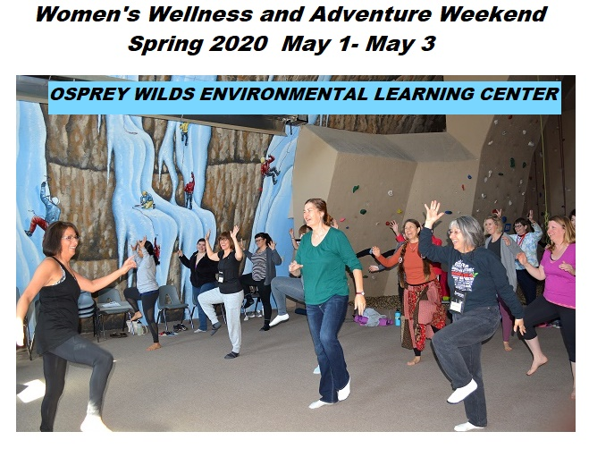 Womens wellness Weekend at Osprey Wilds 2020