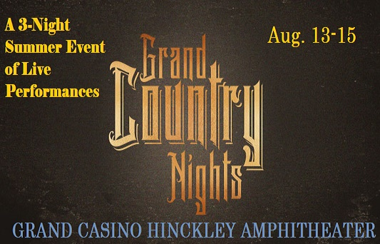 Country music Grand Country Nights at Grand Casino Hinckley