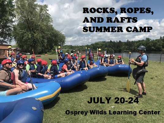 Rocks Ropes & Rafts Summer Camp 2020