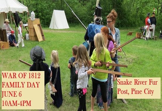 Snake River Fur Post Family Day War of 1812