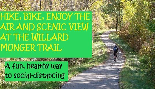 hiking, trail, munger, biking, parks