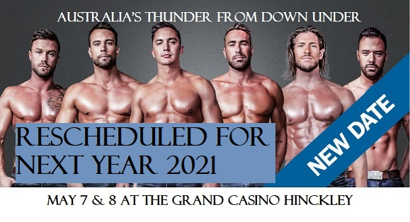Thunder from Down Under, Grand Casino Hinckley