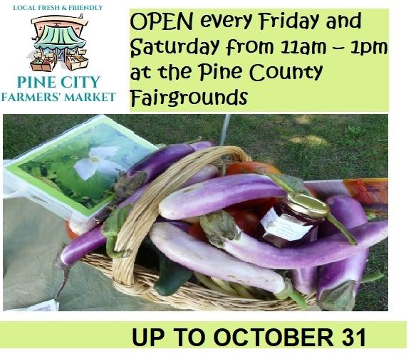 market, pine city, fruits, vegetables, sales