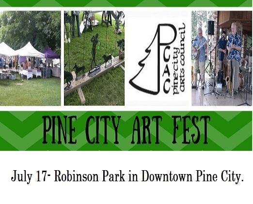 Pine City, Artfest, outdoor, events, MN