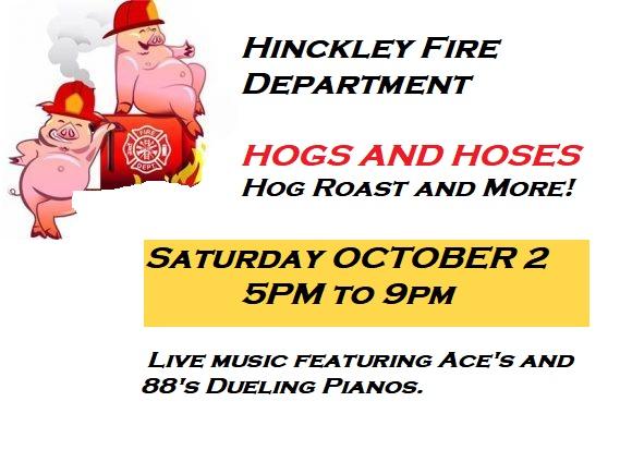 hogs, street party, barbecue, hinckley